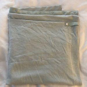 Lululemon Vinyasa scarf Mint green